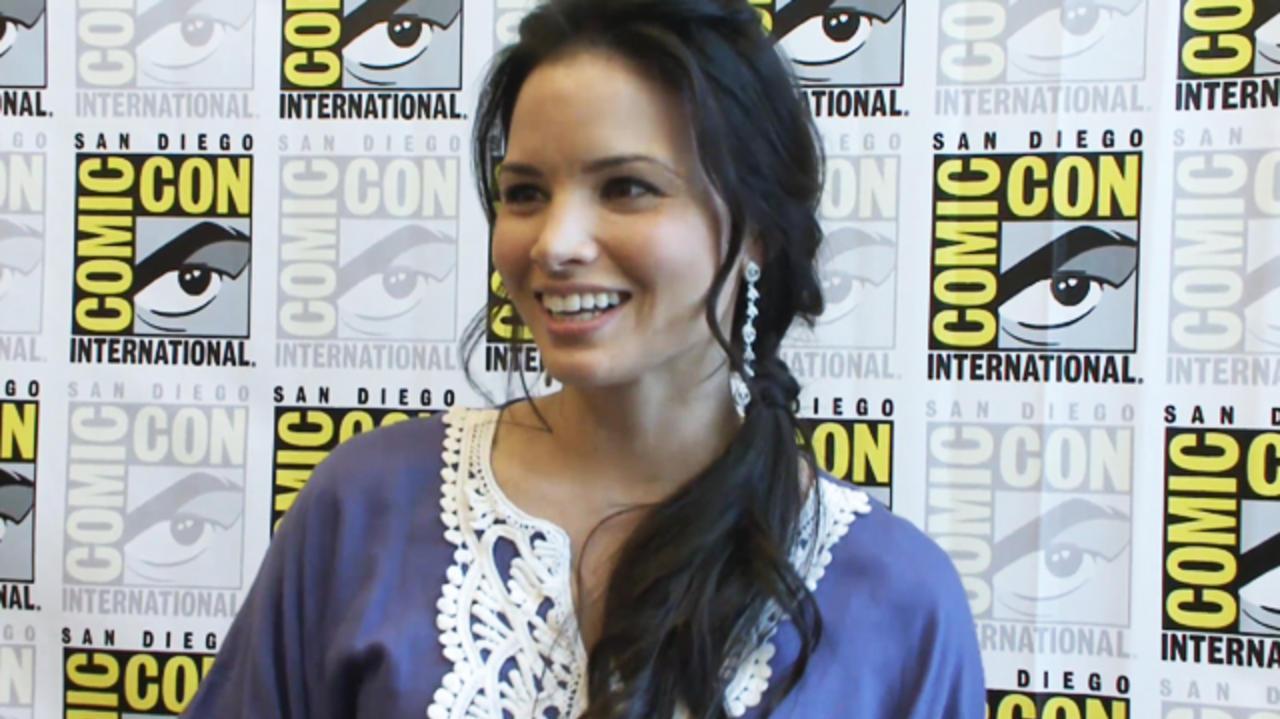 Comic-Con - Spartacus - Katrina Law Interview