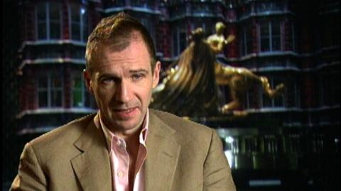 "Harry Potter and the Order of the Phoenix (2007) - Interview Ralph Fiennes ""On Voldemort corrupting Harry"""