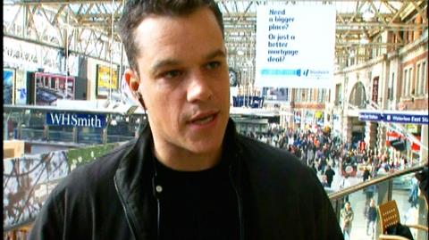 "The Bourne Ultimatum (2007) - Interview Matt Damon ""On shooting on locations"""