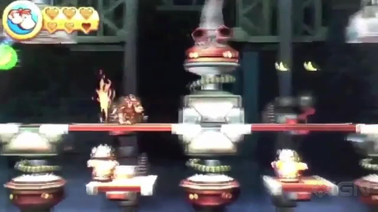 Donkey Kong Country Returns 3D Walkthrough World 9-7 Robo Factory