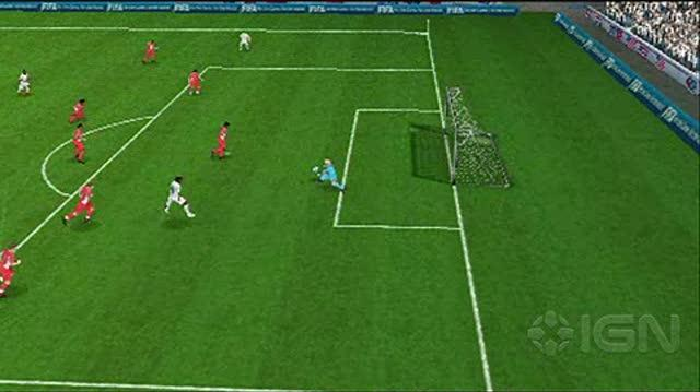 2010 FIFA World Cup South Africa Sony PSP Gameplay - USA vs
