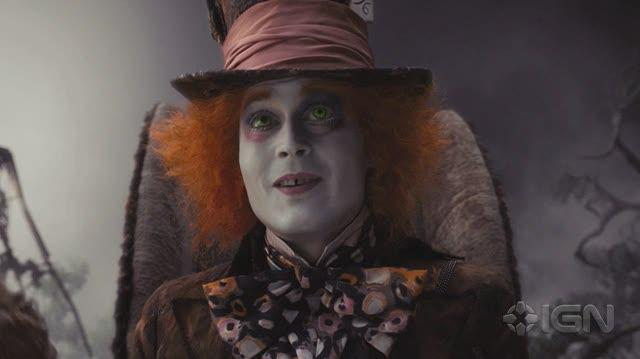 Alice in Wonderland (2010) Movie Feature-Behind-the-Scenes - Alice