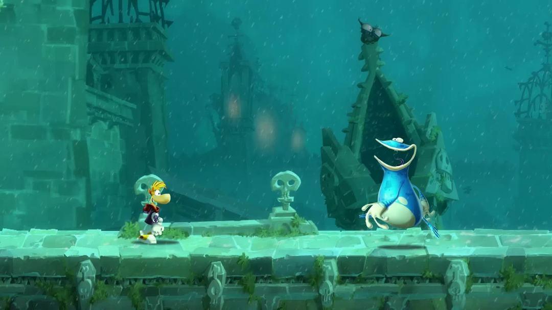 Rayman Legends - Mario and Luigi Trailer