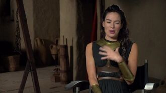 300 Rise of an Empire - Lena Heady Queen Gorgo Interview