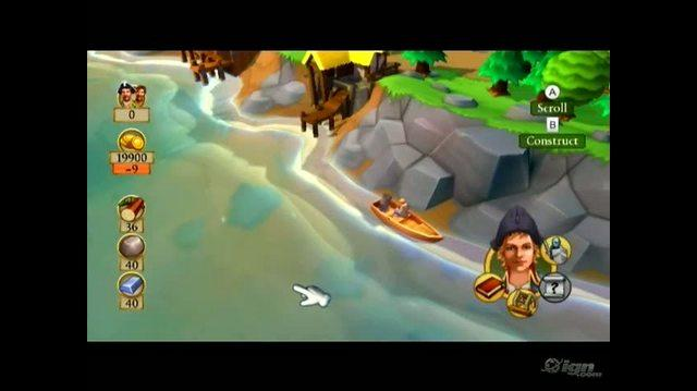 Dawn of Discovery Nintendo Wii Gameplay - Fishing