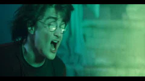 Harry Potter and the Goblet of Fire - arriving at the graveyard