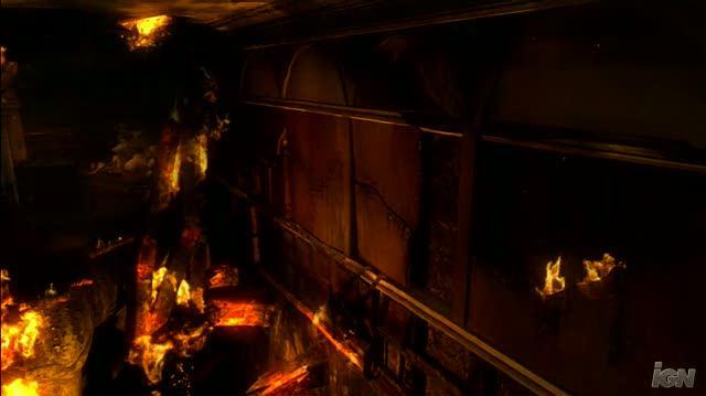 Tomb Raider Underworld PlayStation 3 Gameplay - Blazing Fire