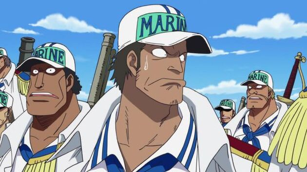 File One Piece - Episode 459 - Ticking Down to the Time of Battle! the Navy's Strongest Lineup in Position!