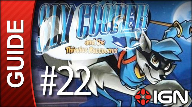 Sly Cooper Thievius Raccoonus Walkthrough - 22 Episode 2 Part 7 Straight to the Top
