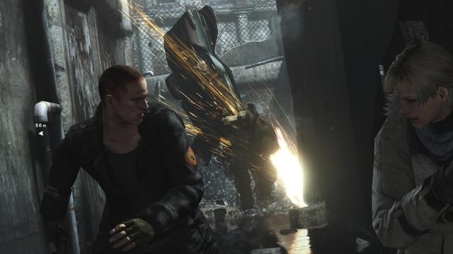 Resident Evil 6 Gamescom Jake Gameplay