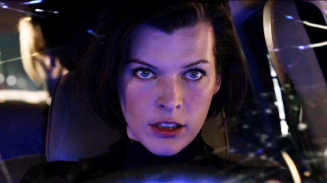Resident Evil Retribution Clip - Heads Up