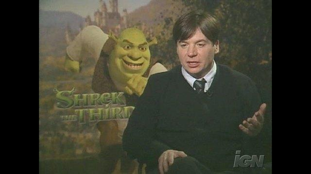 Shrek the Third Movie Interview - Mike Myers