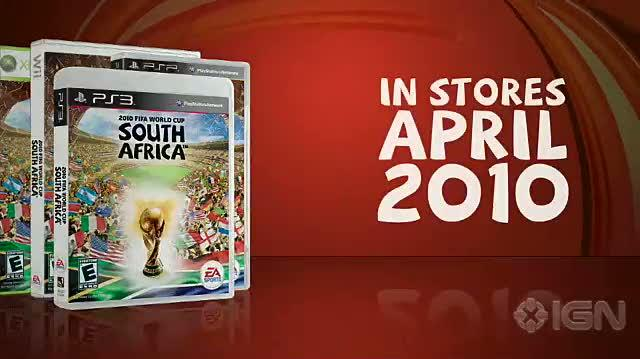 2010 FIFA World Cup South Africa Xbox 360 Trailer - Sizzle Video