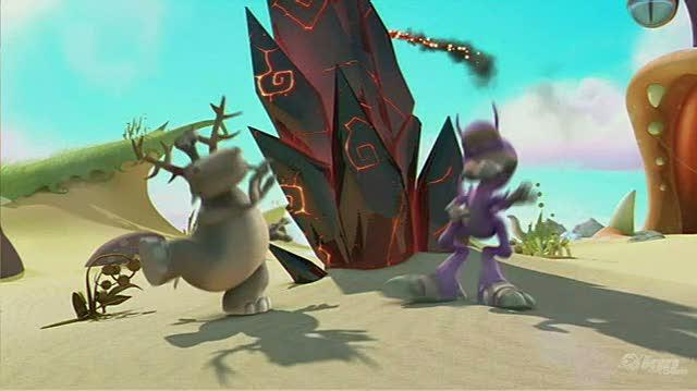 Spore Hero Nintendo Wii Gameplay-Cinematic - Opening Cinematic Video