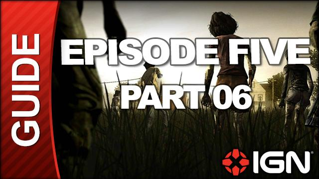 **SPOILERS** The Walking Dead Episode 5 No Time Left Walkthrough - Chapter 5 Going Alone The Gauntlet