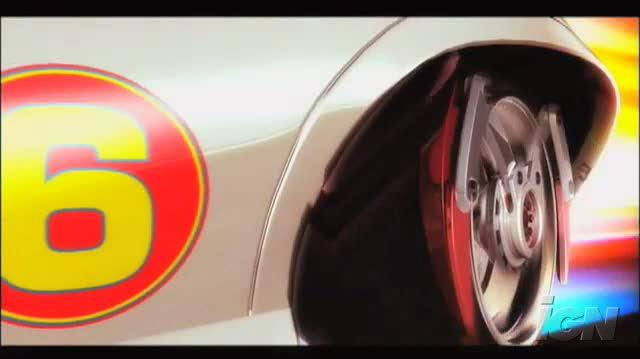 Speed Racer The Videogame Nintendo Wii Trailer - Speed Racer Teaser