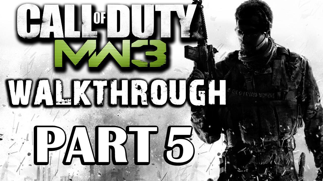 Call of Duty Modern Warfare 3 Walkthrough Part 5 - Back on the Grid