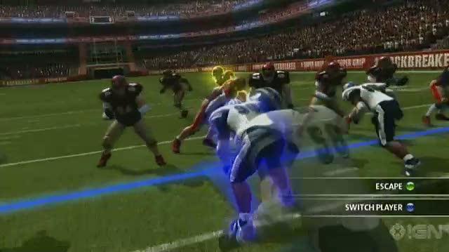 Backbreaker Xbox 360 Gameplay - On Defense