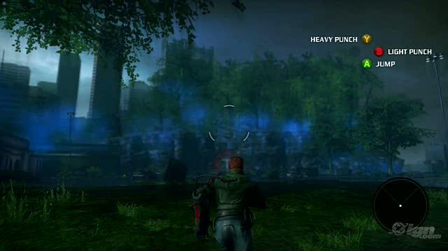 Bionic Commando Xbox 360 Gameplay - Funny Dialog