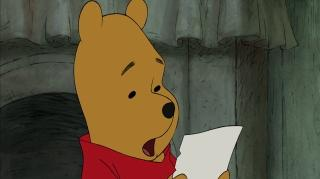 Winnie the Pooh Clip - Pooh's Note