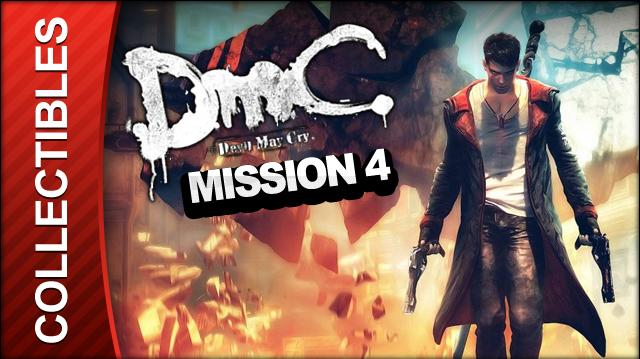 DmC Devil May Cry Mission 4 Under Watch Collectible Locations - All Keys Doors and Lost Souls