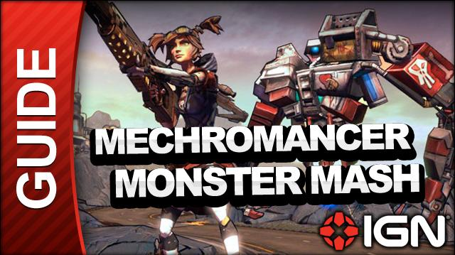 Borderlands 2 Mechromancer Walkthrough - Monster Mash (Part 2) - Side Mission