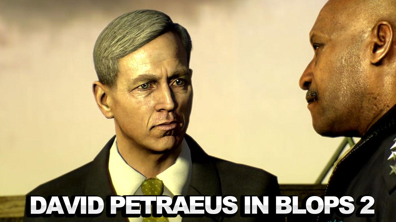 Call of Duty Black Ops 2 - David Petraeus Cameo