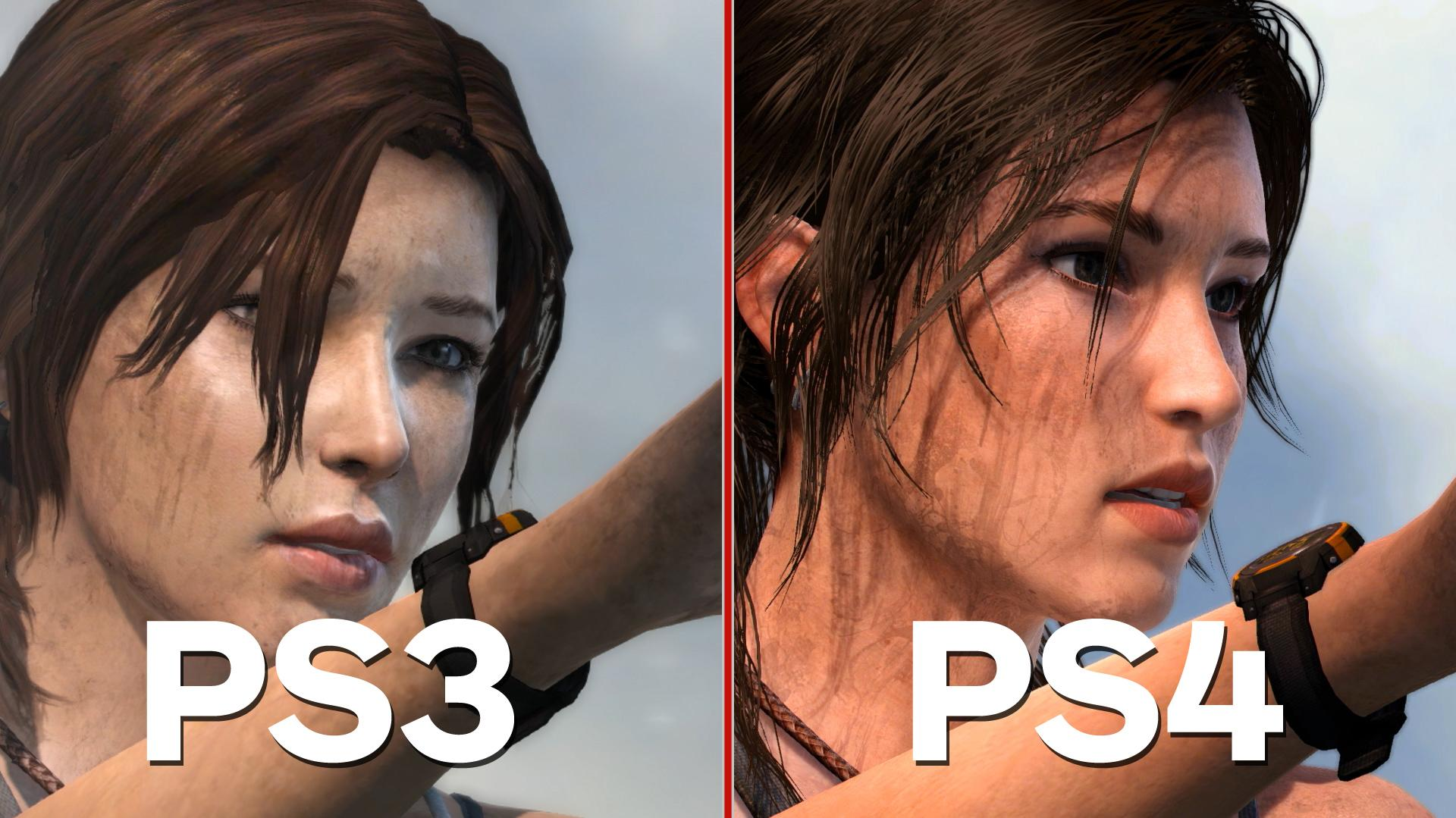 Tomb Raider Definitive Edition - PS4 PS3 Comparison and Analysis