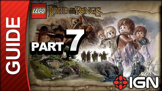 LEGO The Lord of the Rings Walkthrough Part 7 - Taming Gollum