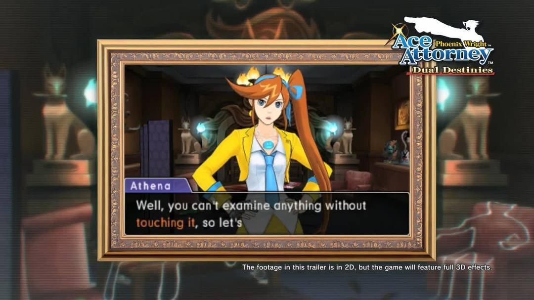 Phoenix Wright Ace Attorney - Dual Destinies Comic-Con Gameplay Video