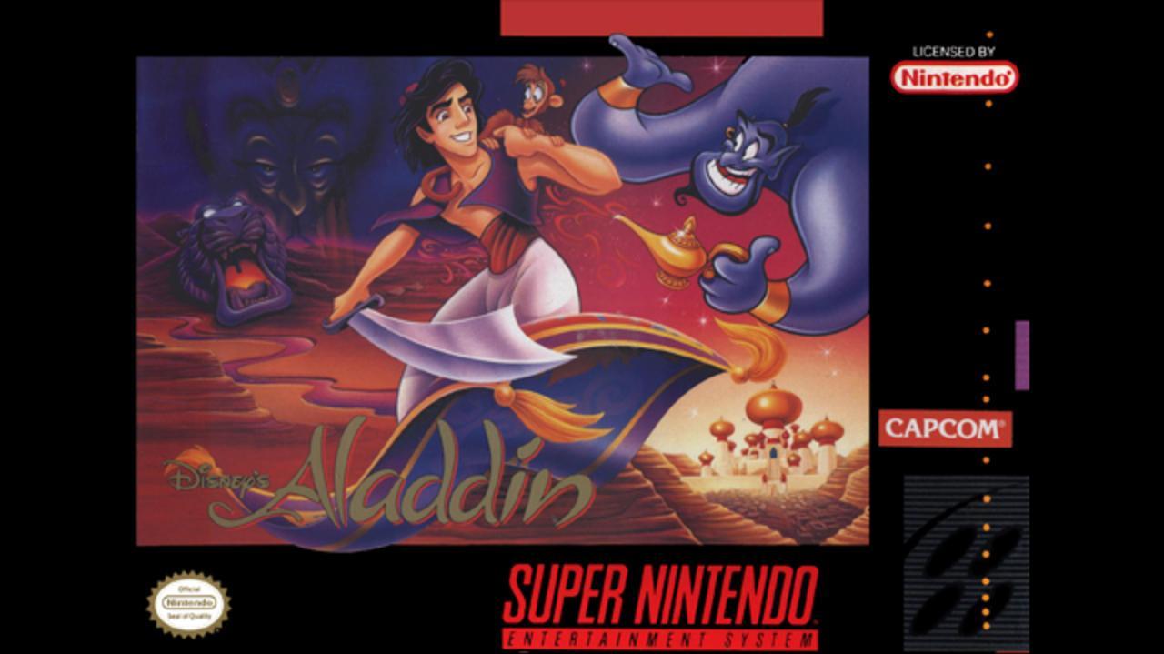 Aladdin One Jump Ahead
