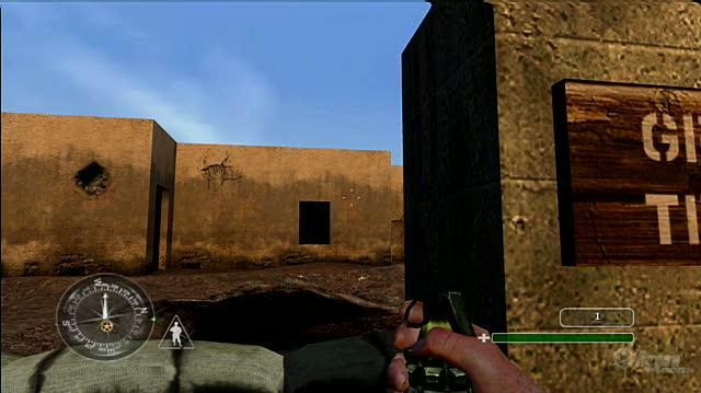 Call of Duty Classic Xbox Live Gameplay - Training