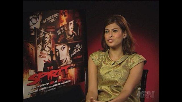 The Spirit Movie Interview - Eva Mendes
