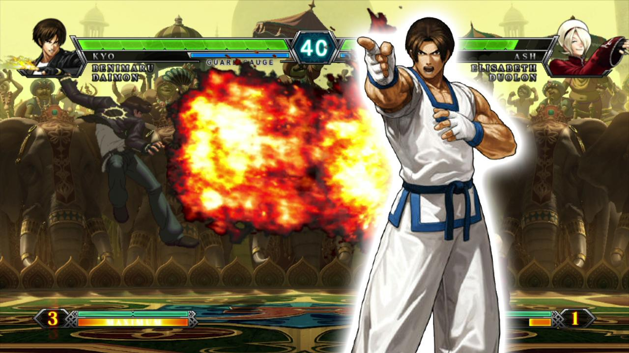 King of Fighters XIII Set 2 Cafe ID Mad KOF VS SA Reynald - EVO 2012 Top 8