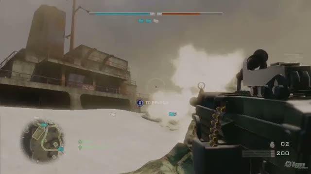 Battlefield Bad Company 2 PlayStation 3 Gameplay - IGN Montage Destruction