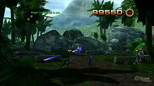 G.I. Joe The Rise of Cobra -- The Game Xbox 360 Gameplay - Gunship Attack