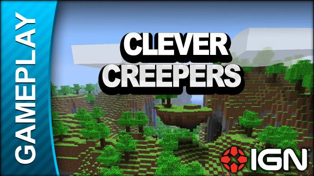 Minecraft - Clever Creepers - Gameplay
