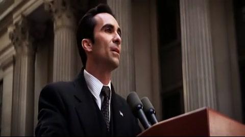 The Dark Knight - Loeb's memorial service