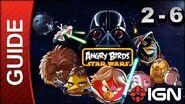 Angry Birds Star Wars Death Star Level 2-6 3 Star Walkthrough