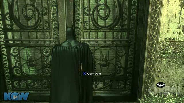 Batman Arkham Asylum Video Guide-Walkthrough - BAA - Escape and Poison Pods