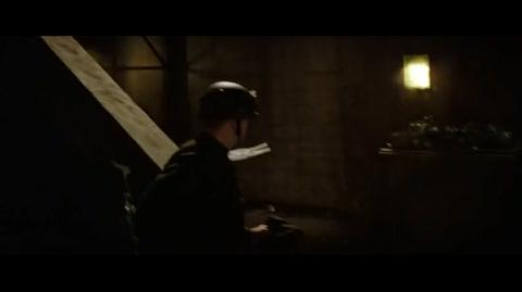 Batman Begins - Gotham on fire