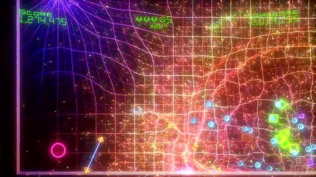 Geometry Wars Retro Evolved 2 Video - Geometry Wars 2 Score Big