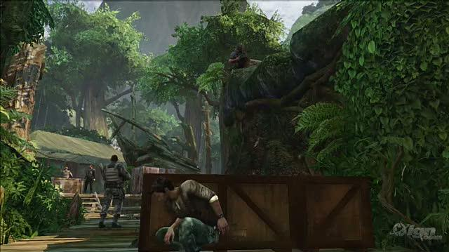 Uncharted 2 Among Thieves PlayStation 3 Gameplay - Brutal Stealth Kills