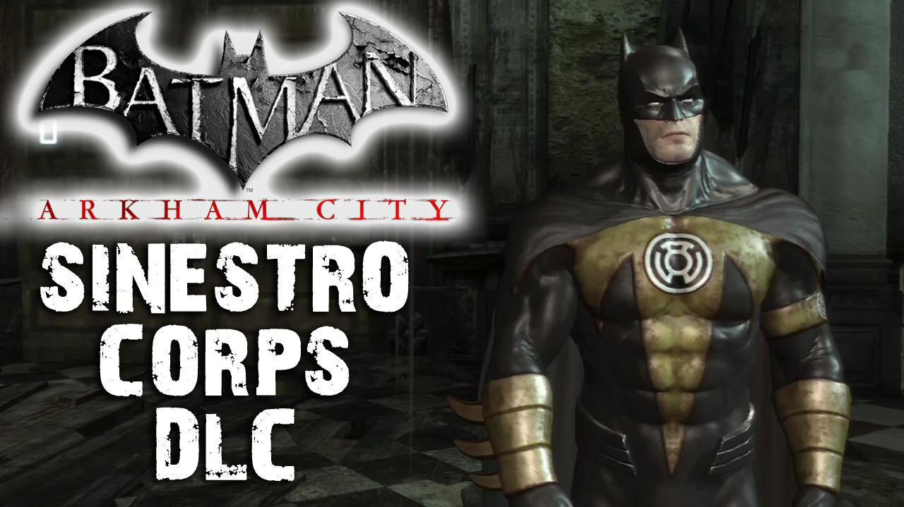 Batman Arkham City - Sinestro Corp DLC