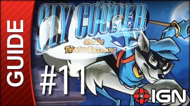 Sly Cooper Thievius Raccoonus Walkthrough - 11 Episode 1 Part 7 Treasure in the Depths