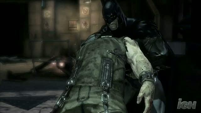 Batman Arkham Asylum Xbox 360 Trailer - Invisible Predator Trailer