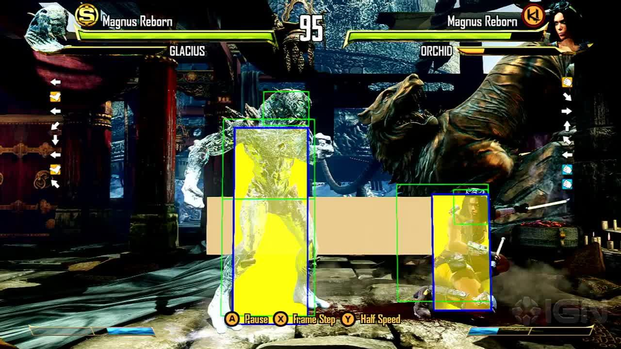 Killer Instinct - Replay Mode in Action