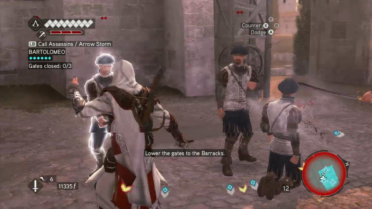 NextGenWalkthroughs Assassin's Creed Brotherhood - Seq 6 - Gatekeeper