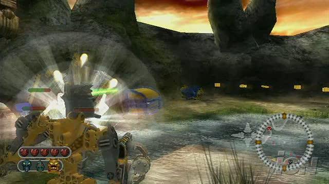 Bionicle Heroes Nintendo Wii Video - General Gameplay