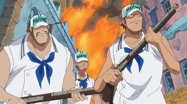 File One Piece - Episode 722 - A Blade of Tenacity! The Gamma Knife Counterattack!